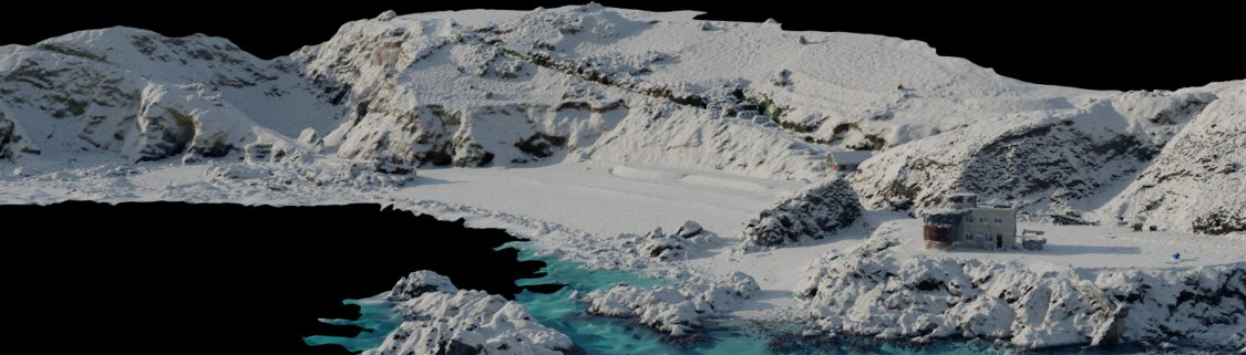 Simulating snow on any terrain